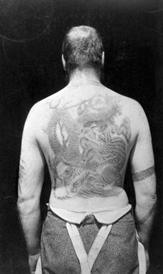 Proper Bostonian Dr. Charles Goddard Weld returned from an 1885 trip to Japan with an immense dragon tattooed on his back; his friend Charles Longfellow got a carp.
